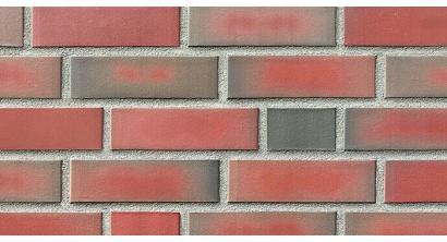 Фасадная плитка клинкерная Roben Westerwald Bunt гладкая NF9, 240*9*71 мм, фото номер 1