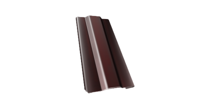 Защелка для кронштейна Гранд Лайн (Grand Line) Granite RAL 8017 шоколад, D 150/100 мм, фото номер 1