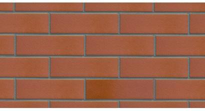 Фасадная плитка клинкерная DeKERAMIK DKK822 рубин гладкая, NF8, 240*71*8 мм, фото номер 1