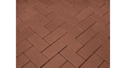 Брусчатка тротуарная клинкерная Penter rot, 200x100x52 мм, фото номер 1