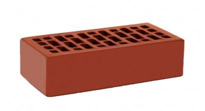 Кирпич керамический облицовочный пустотелый КС-керамик Красный гладкий 250*120*65 мм, фото номер 1