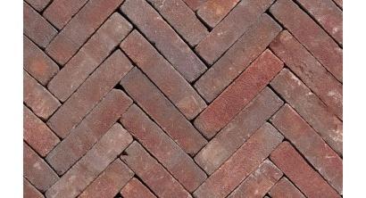 Клинкерная тротуарная брусчатка ручной формовки Penter Ruston tumbled, 200х50х65 мм, фото номер 1