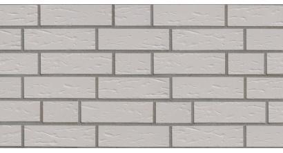 Фасадная плитка клинкерная ABC Weiss рельефная NF10, 240*71*10 мм, фото номер 1