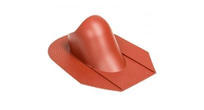 Проходной элемент VILPE HUOPA/SLATE для мягкой кровли, красный, фото номер 1