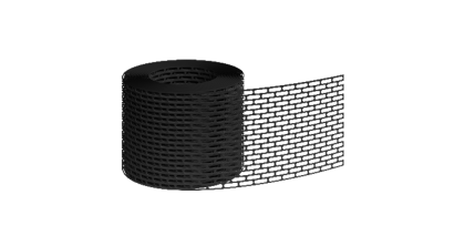 Вентиляционная лента BRAAS черная, 5 м, фото номер 1