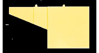 Вентиляционно-осушающая коробочка VENTEK универсальный формат, желтая, фото номер 1