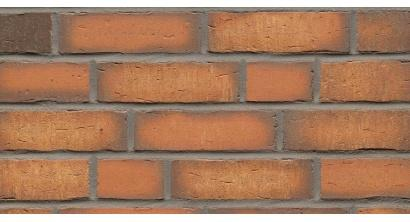 Фасадная плитка клинкерная Feldhaus Klinker R758 vascu terracotta NF14, 240*14*71 мм, фото номер 1