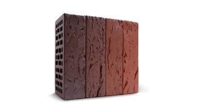 Кирпич керамический облицовочный пустотелый КС-керамик Бавария микс кора дерева 250*120*65 мм, фото номер 1