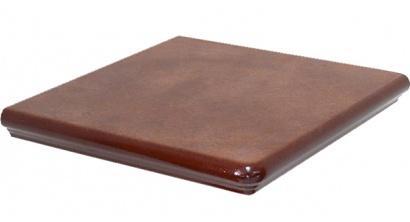 Клинкерная угловая ступень Interbau Nature Art 114 Cognac braun, 320x320x9,5 мм, фото номер 1