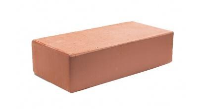Кирпич керамический облицовочный полнотелый КС-керамик Красный гладкий 250*120*65 мм, фото номер 1
