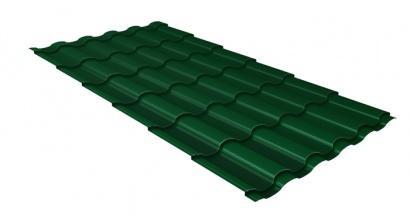 Металлочерепица Гранд Лайн (Grand Line) Kredo Velur20 0.5 RAL 6005 зеленый мох, фото номер 1