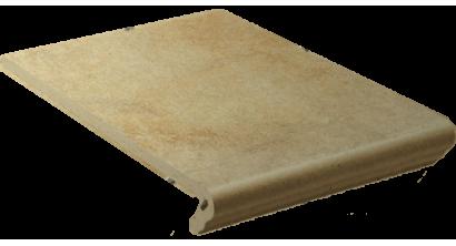 Клинкерная ступень флорентинер Stroeher Keraplatte Aera T 727 pinar, 340х294х12 мм, фото номер 1