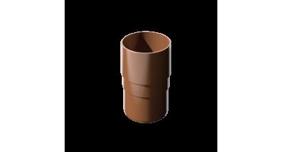Муфта трубы ТехноНИКОЛЬ (Verat) коричневый, D 82 мм, фото номер 1