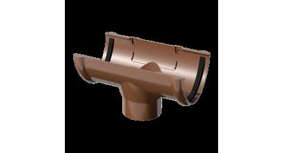 Воронка желоба ТехноНИКОЛЬ (Verat) коричневый, D 125 мм, фото номер 1