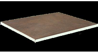Клинкерная напольная плитка Interbau Nature Art 124 Umbra braun, 360x360x9,5 мм, фото номер 1