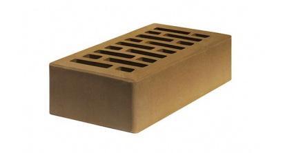 Кирпич керамический облицовочный пустотелый Строма Коричневый гладкий 250*120*65 мм, фото номер 1