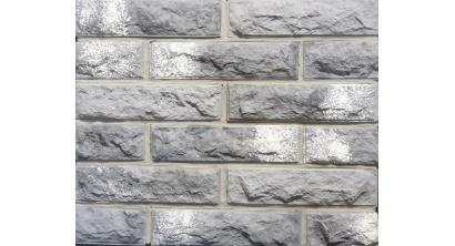 Искусственный камень Балтфасад кирпич Колотый серый 248х62 мм, фото номер 1