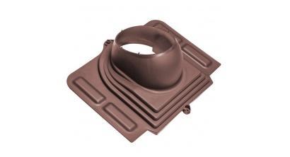 Проходной элемент VILPE PELTI для металлической кровли, шоколадный, фото номер 1