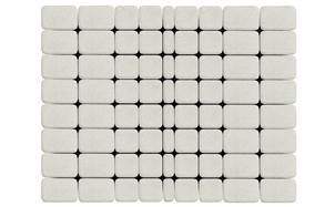 Тротуарная плитка BRAER Классико белый, 115*60 мм, фото номер 1
