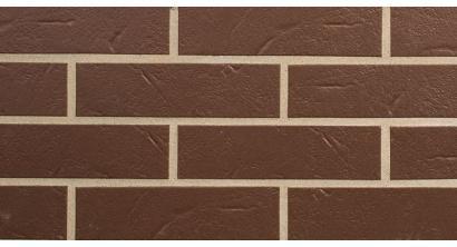 Фасадная плитка клинкерная ABC Alaskа Braun рельефная NF7, 240*71*7 мм, фото номер 1