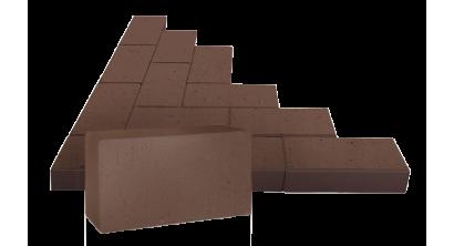 Брусчатка тротуарная клинкерная ЛСР (RAUF Design) Бонн терракотовая, 200*100*50 мм, фото номер 1