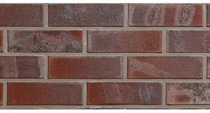 Кирпич клинкерный облицовочный пустотелый ABC 0104 Brandenburg rot-bunt гладкий 240*90*71 мм, фото номер 1