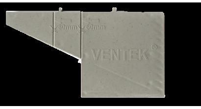 Вентиляционно-осушающая коробочка VENTEK универсальный формат, серая, фото номер 1