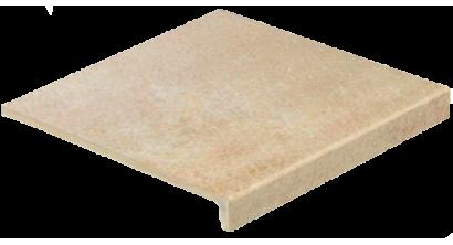 Клинкерная ступень прямоугольная Stroeher Keraplatte Asar 635 gari, 294x340x35x11 мм, фото номер 1