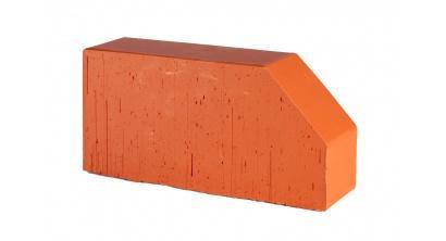 Кирпич керамический облицовочный фигурный полнотелый Lode Janka F6 гладкий 250*120*65 мм, фото номер 1