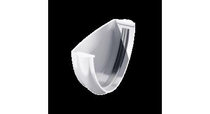 Заглушка желоба ТехноНИКОЛЬ (Verat) белый, D 125 мм, фото номер 1