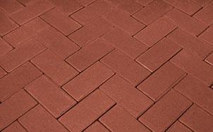 Брусчатка тротуарная клинкерная Penter rot, 240x118x52 мм, фото номер 1