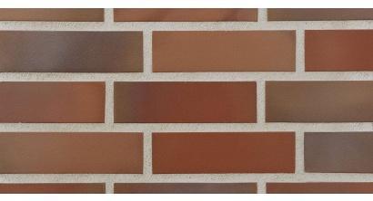 Фасадная плитка клинкерная Stroher Keravette Chromatic 316 patrizienrot ofenbunt гладкая NF11, 240*71*11 мм, фото номер 1