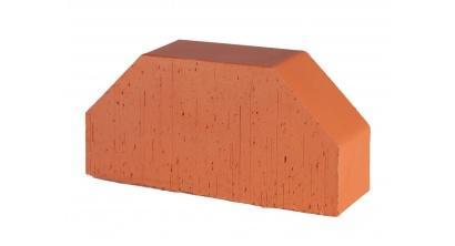 Кирпич керамический облицовочный фигурный полнотелый Lode Janka F7 гладкий 250*120*65 мм, фото номер 1