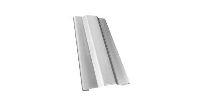 Защелка для кронштейна Гранд Лайн (Grand Line) Granite RAL 9003 белый, D 125/90 мм, фото номер 1