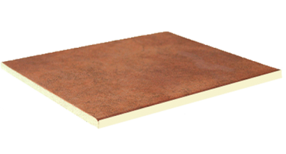 Клинкерная напольная плитка Interbau Nature Art 114 Cognac braun, 360x360x9,5 мм, фото номер 1