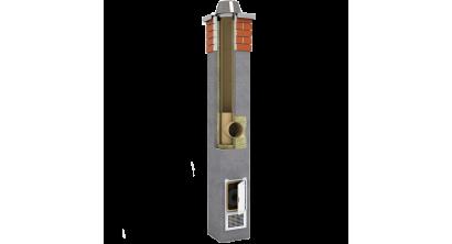 Комплект дымохода SCHIEDEL UNI одноходовой без вентканала 4 п.м, 36*36 см, D 20 см, фото номер 1