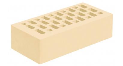 Кирпич керамический облицовочный пустотелый Голицынский КЗ Белые ночи белый гладкий 250*120*65 мм, фото номер 1