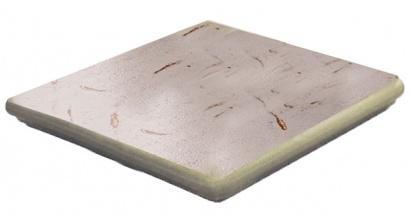 Клинкерная угловая ступень флорентинер ABC Antik Muschelweiss, 335*335*10 мм, фото номер 1