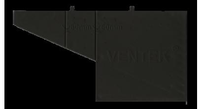 Вентиляционно-осушающая коробочка VENTEK универсальный формат, черная, фото номер 1