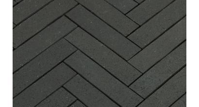 Брусчатка тротуарная клинкерная Penter Baltic Grafit, 250x60x52 мм, фото номер 1
