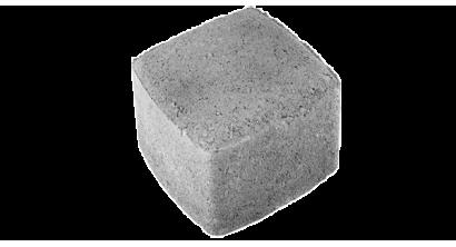 Тротуарная плитка ЦЕМСИС Классика-1 1К.8 серый, 115*115*80 мм, фото номер 1