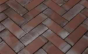 Брусчатка тротуарная клинкерная Penter Borkum, 210x50x70 мм, фото номер 1