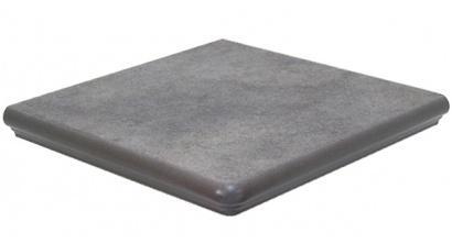 Клинкерная угловая ступень Interbau Nature Art 119 Quartz grau, 320x320x9,5 мм, фото номер 1