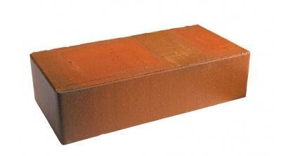 Кирпич керамический облицовочный полнотелый Terca Red flame редуцированный гладкий 250*120*65 мм, фото номер 1