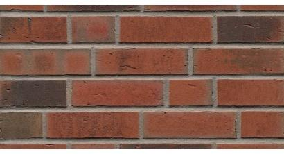 Фасадная плитка клинкерная Feldhaus Klinker R752 Vascu ardor carbo рельефная NF14, 240*14*71 мм, фото номер 1
