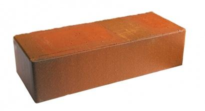 Кирпич керамический облицовочный полнотелый Terca Red flame редуцированный гладкий 250*85*65 мм, фото номер 1