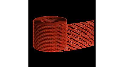 Вентиляционная лента BRAAS красная, 5 м, фото номер 1