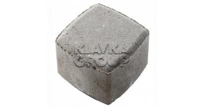 Тротуарная плитка МЕЛИКОН ПОЛАР Классика-1 1К.8 серый, 115x115x80 мм, фото номер 1