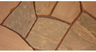 Песчаник красный обожженный, 20-25 мм, фото номер 1