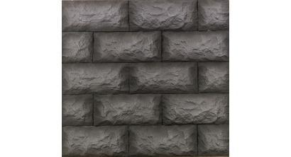 Искусственный камень Балтфасад Гранит черный 275×125 мм, фото номер 1
